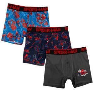 Marvel Spiderman boys boxer brief NEW 3 pk 149 151